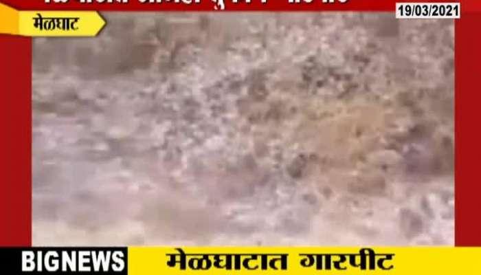 Amravati Heavy Hailstorm in Melghat