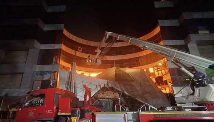मुंबईत मॉलमधील कोविड सेंटरला आग, दोघांचा गुदमरुन मृत्यू