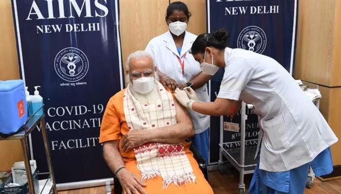 पंतप्रधान नरेंद्र मोदी यांनी घेतला कोरोना लसीचा दुसरा डोस, ट्विट करत केले आवाहन