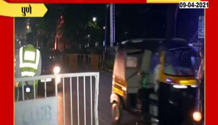 Pune Weekend Lockdown Begin Ground Report