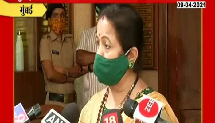 Mumbai Mayor Kishori Pednekar On Corona Vaccination PC