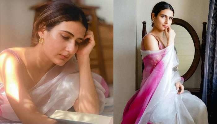 Fatima Sana Shaikh चा साडीतला खास अंदाज