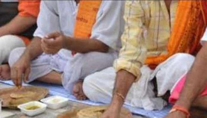 Maharashtra : या गावात 'कोरोना स्फोट', एकत्र जेवणाळीनंतर 93 जणांना कोरोनाची लागण