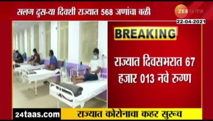 Maharashtra reports 67,013 new COVID19 cases
