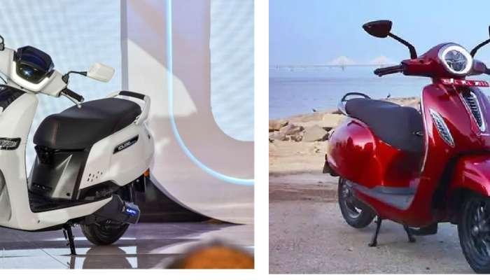 TVS ची iQube आणि  Bajaj च्या Chetak मध्ये कोणती इलेक्ट्रिक स्कूटर बेस्ट? कोणाचा आहे दमदार परफॉमन्स?