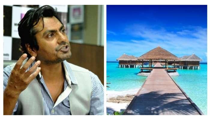 काही तरी लाज बाळगा.... मालदीवला जाणाऱ्या कलाकारांवर भडकला नवाजुद्दीन