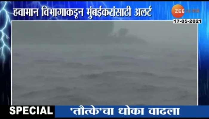 cyclone tauktae impact on Mumbai