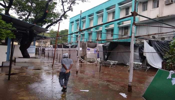 Cyclone Tauktae : तौत्के चक्रीवादळाचे मुंबईतील रौद्र रूप