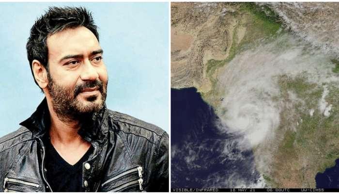 अजय देवगनला Tauktae चक्रीवादळाचा मोठा फटका, एवढं झालं नुकसान