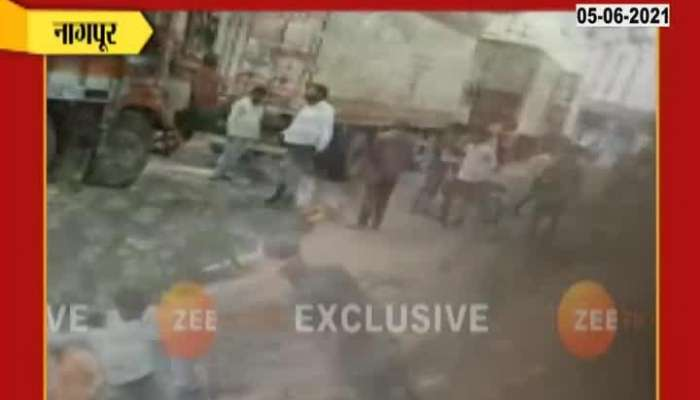 Nagpur Truck Driver Beaten For Parking Issue