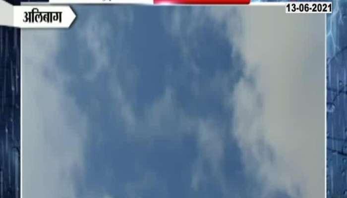 ALIBAGH NO RAIN AT MAHAD POLADPUR IN THE MORNING