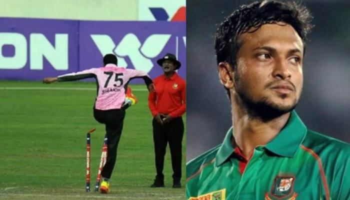 अंपायरला लाथ मारणाऱ्या क्रिकेटपटूवर कारवाई, भरावा लागणार एवढा दंड