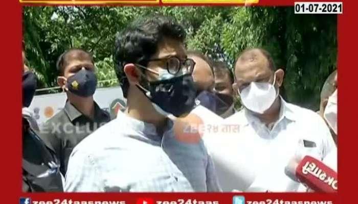Tourism Minister Aditya Thackeray Brief Media On Corona And Vaccination
