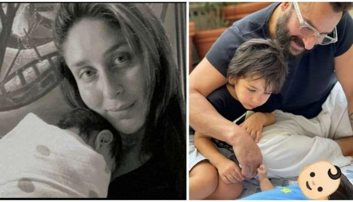 Kareena Kapoor Baby Boy Name : सैफ-करिनाच्या दुसऱ्या मुलाचं नाव ठरलं