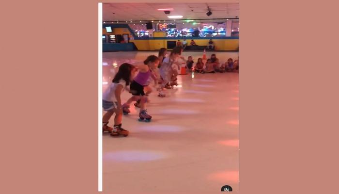 Skating Girl Viral Video : स्पर्धा सुरू होताच जमिनीवर पडली, पुन्हा जोमाने उठली आणि शर्यंतही जिंकली