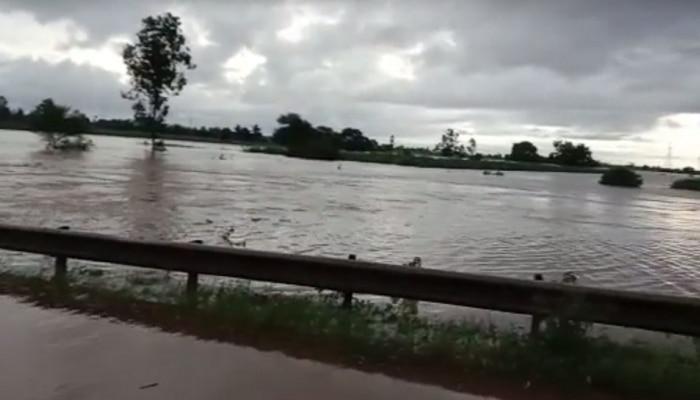 धोका वाढला! कोल्हापूर जिल्ह्यातील पंचगंगा नदीने ओलांडली धोका पातळी