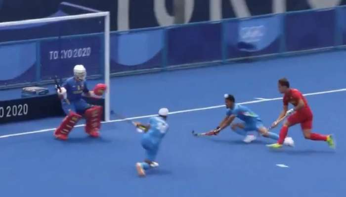 Tokyo Olympics: भारतीय हॉकी टीमचे शानदार पुनरागमन, स्पेनला दिला पराभवाचा धक्का