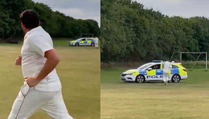 क्रिकेट सामना सोडून चोराला पकडण्यासाठी खेळाडूंनी धाव मारली आणि...