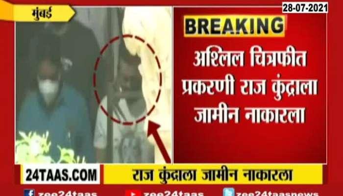 bail denied in Pornography Case Raj Kundra