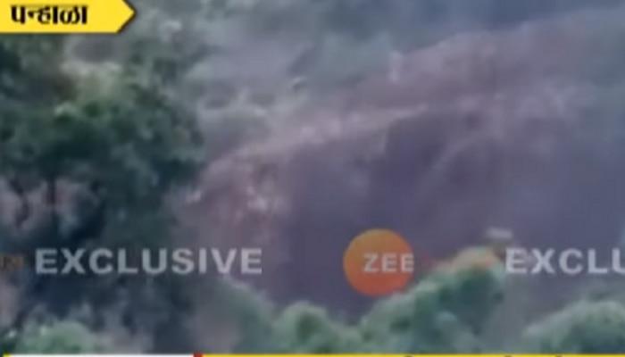 Kolhapur lndslide Video : कोल्हापुरात दुसरं माळीण होताहोता वाचलं