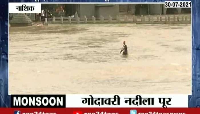 NASHIK GROUND REPORT GODAVARI RIVER FLOOD