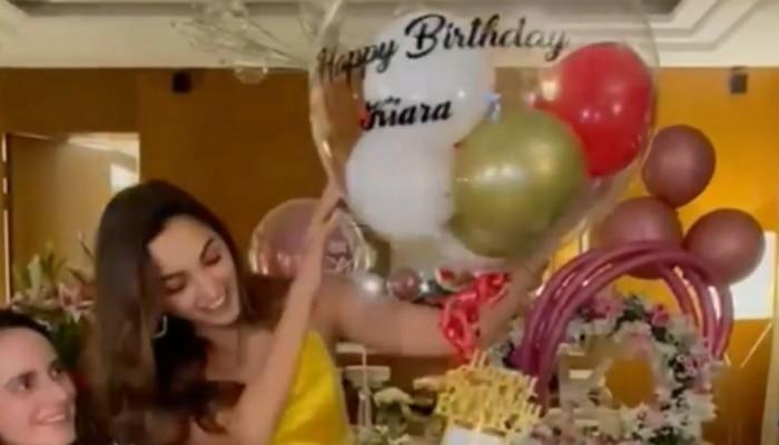 Kiara Advani ला कथित प्रियकराकडून खास शुभेच्छा; Birthday पार्टीत धमाल
