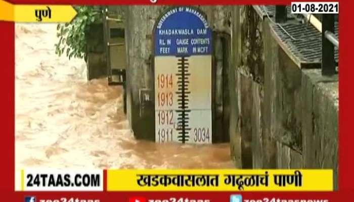 Pune Khadakwasala Dam Providing Mud Water