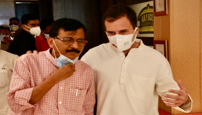 ठाकरे-गांधी नवे पर्व! राहुल गांधी मातोश्रीची पायरी चढणार?