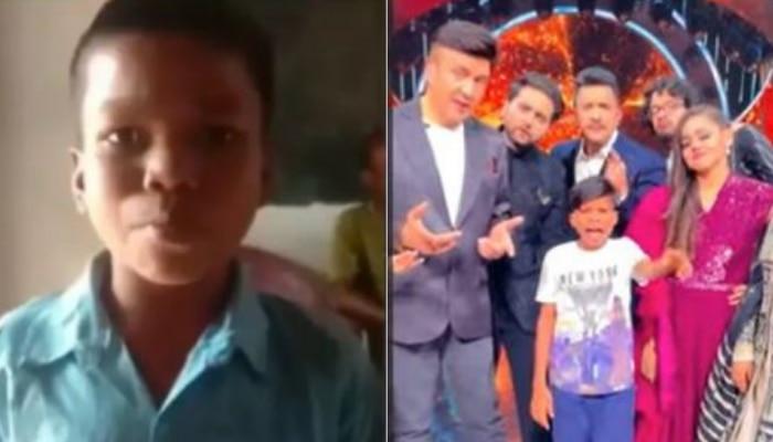 'Indian Idol 12'च्या मंचावर 'बचपन का प्यार' फेम सहदेवची एन्ट्री, पाहा फोटो