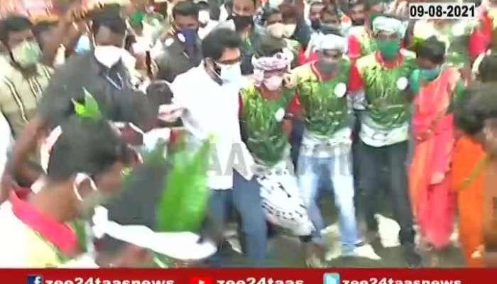 MUMBAI ADITYA THACKERAY TRIBAL DANCE