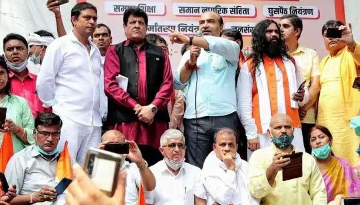 भाजप नेते अश्विनी उपाध्याय यांच्यासह 6 जणांना दिल्लीत अटक, का झाली पोलीस कारवाई