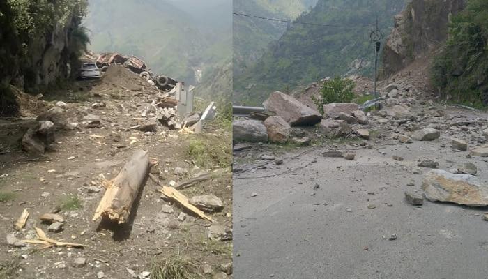 Himachal Pradesh: निसर्गाचा कोप सुरुच; हरिद्वारला निघालेल्या बसवर कोसळली दरड, 45 हून अधिकजण बेपत्ता