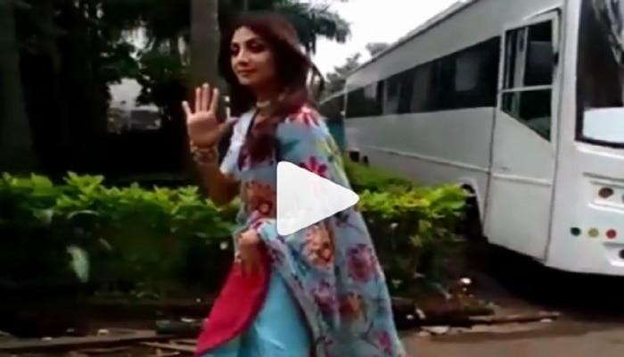 Pornography controversy : पतीचे कारनामे उघडकीस आल्यानंतर Shilpa Shetty पहिल्यांदाच कॅमेरासमोर, पाहा काय म्हणाली...