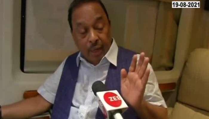 Mumbai EXCLUSIVE Interview of Narayan Rane on zee 24 taas