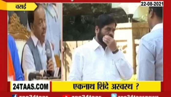 BJP MP Narayan Rane On Shivsena Leader And Minister Eknath Shinde