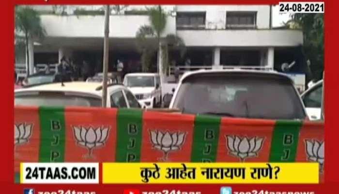 Ratnagirir Chiplun Minister Narayan Rane To Continue Jan Ashirwad Yatra