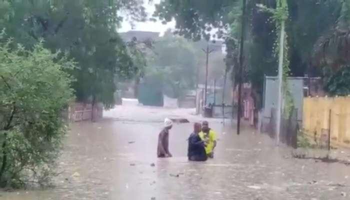 मराठवाडा, विदर्भात जोरदार पाऊस, नद्यांना पूर; अनेक गावांचा संपर्क तुटला