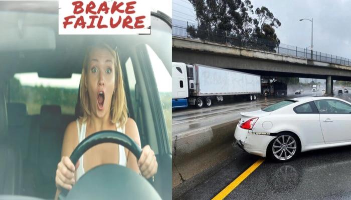 कारचे ब्रेक फेल झाले तर घाबरू नका, 'या' टिप्स तुम्हाला अपघातापासून वाचवू शकतात
