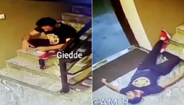 अति व्यायाम तरुणाच्या जिवावर बेतलं...अखेरच्या 2 मिनिटांचा व्हिडीओ CCTV कैद