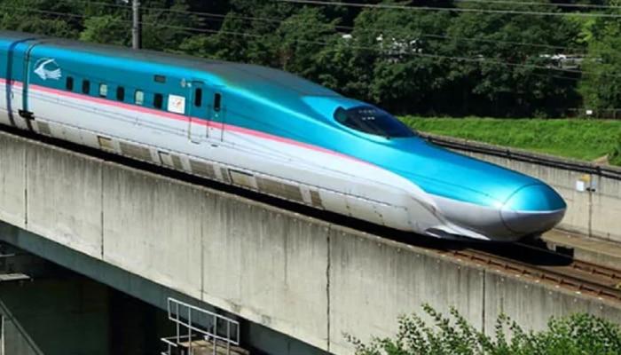 बुलेट ट्रेनला शिवसेनेचा विरोध मावळला? केंद्र सरकारची बुलेट ट्रेन ठाण्यातून सुसाट धावणार