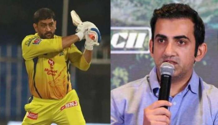 """IPL 2021 """"धोनीला धावा करणे कठीण जाणार, कारण..."""", काय म्हणाला गंभीर?"""