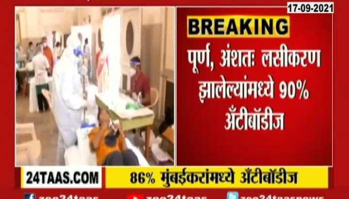 Corona Antibodies Were Found In 86 Percent Of Mumbaikars