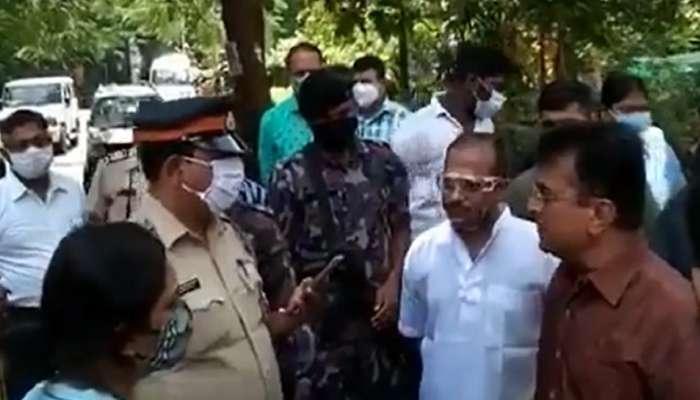किरिट सोमय्यांच्या घराबाहेर पोलिसांचा वेढा; गृहमंत्र्यांनी अटक करण्याचे आदेश दिल्याचा दावा