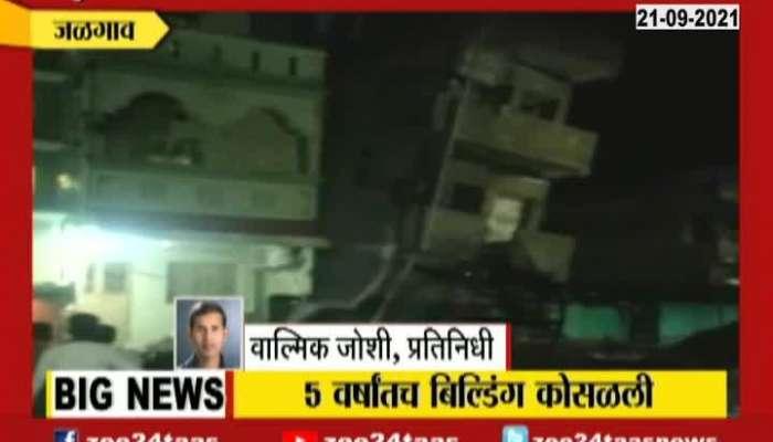 Jalgaon Pachora Three Storey Building Collapse