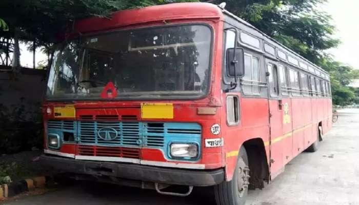 Ahmednagar : एसटीत गळफास घेत चालकाची आत्महत्या