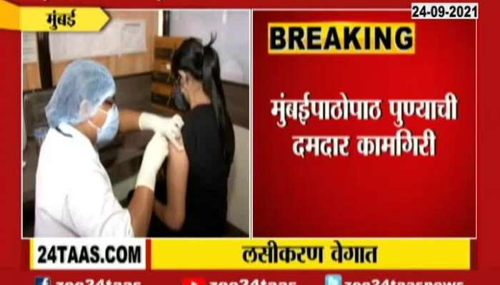 Maharashtra State Is Ahead in Covid Vaccination