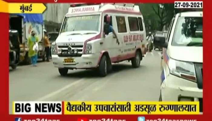Shivsena Former MP Anandrao Adsul Admitted In Hospital After Ed Raid