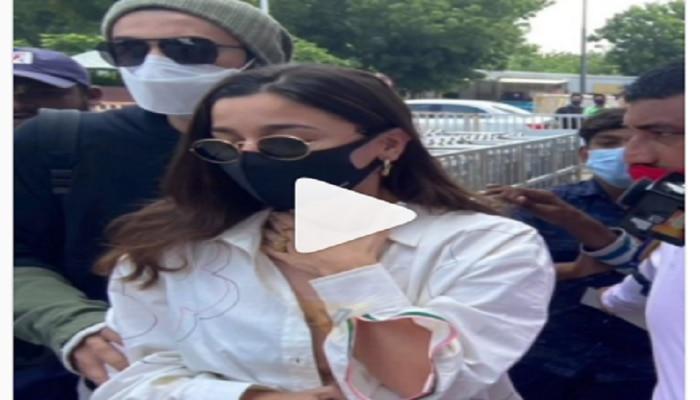 Video : आलियाला अडचणीत पाहून रणबीरची धाव; जे केलं ते पाहून म्हणाल...