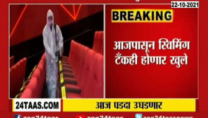 Maharashtra Cinema Halls And Theaters To Reopens Today With Guidelines